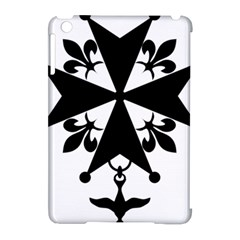 Huguenot Cross Apple Ipad Mini Hardshell Case (compatible With Smart Cover) by abbeyz71