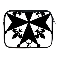 Huguenot Cross Apple Ipad 2/3/4 Zipper Cases by abbeyz71