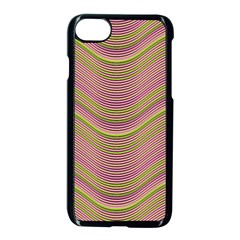 Pattern Apple Iphone 7 Seamless Case (black) by Valentinaart