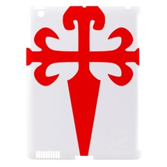 Cross Of Saint James  Apple Ipad 3/4 Hardshell Case (compatible With Smart Cover) by abbeyz71