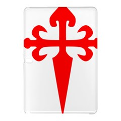 Cross Of Saint James  Samsung Galaxy Tab Pro 10 1 Hardshell Case by abbeyz71