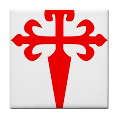 Cross Of Saint James Tile Coasters by abbeyz71