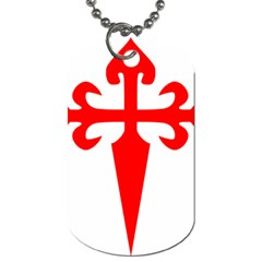 Cross Of Saint James Dog Tag (two Sides) by abbeyz71