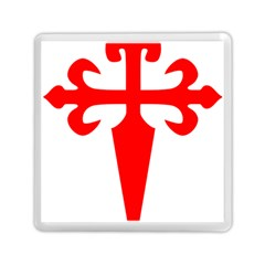 Cross Of Saint James Memory Card Reader (square)  by abbeyz71