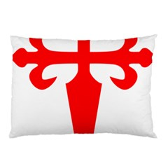 Cross Of Saint James Pillow Case (two Sides) by abbeyz71
