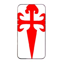 Cross Of Saint James Apple Iphone 4/4s Seamless Case (black) by abbeyz71