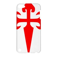 Cross Of Saint James Apple Ipod Touch 5 Hardshell Case by abbeyz71