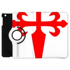 Cross Of Saint James Apple Ipad Mini Flip 360 Case by abbeyz71