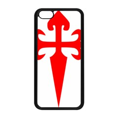 Cross Of Saint James Apple Iphone 5c Seamless Case (black) by abbeyz71