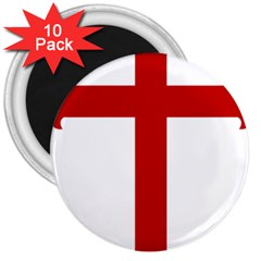 Cross Of Saint James 3  Magnets (10 Pack)  by abbeyz71