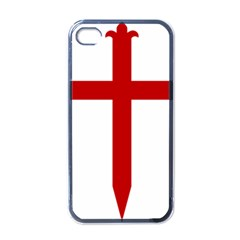 Cross Of Saint James Apple Iphone 4 Case (black) by abbeyz71