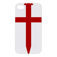 Cross Of Saint James Apple Iphone 4/4s Hardshell Case by abbeyz71