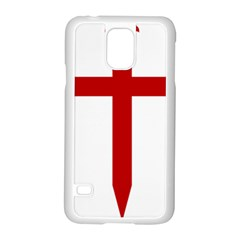 Cross Of Saint James Samsung Galaxy S5 Case (white) by abbeyz71