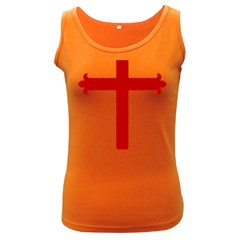 Cross Of Saint James Women s Dark Tank Top by abbeyz71