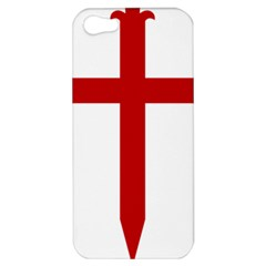 Cross Of Saint James Apple Iphone 5 Hardshell Case by abbeyz71