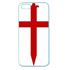 Cross Of Saint James Apple Seamless Iphone 5 Case (color) by abbeyz71