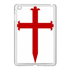 Cross Of Saint James Apple Ipad Mini Case (white) by abbeyz71