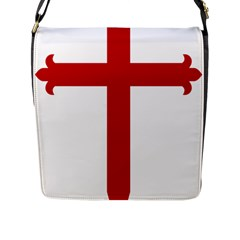 Cross Of Saint James Flap Messenger Bag (l)  by abbeyz71