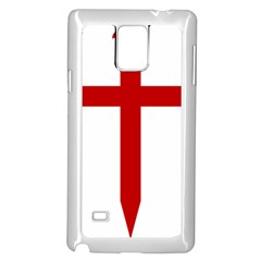 Cross Of Saint James Samsung Galaxy Note 4 Case (white) by abbeyz71