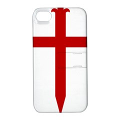 Cross Of Saint James Apple Iphone 4/4s Hardshell Case With Stand by abbeyz71