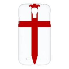 Cross Of Saint James Samsung Galaxy S4 I9500/i9505 Hardshell Case by abbeyz71