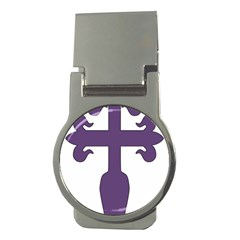 Cross Of Saint James Money Clips (round)  by abbeyz71