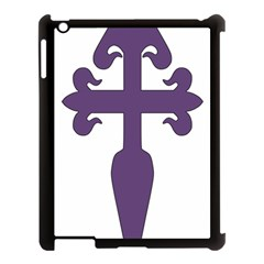 Cross Of Saint James Apple Ipad 3/4 Case (black) by abbeyz71