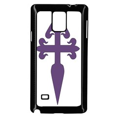 Cross Of Saint James Samsung Galaxy Note 4 Case (black) by abbeyz71