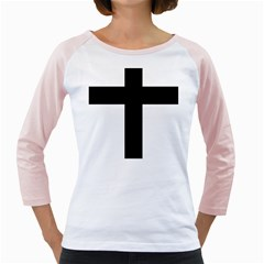 Latin Cross  Girly Raglans by abbeyz71