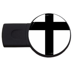 Latin Cross  Usb Flash Drive Round (4 Gb) by abbeyz71