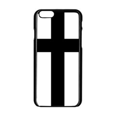 Latin Cross  Apple Iphone 6/6s Black Enamel Case by abbeyz71