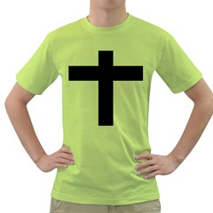 Latin Cross  Green T Shirt by abbeyz71