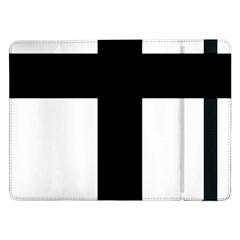 Latin Cross  Samsung Galaxy Tab Pro 12 2  Flip Case by abbeyz71