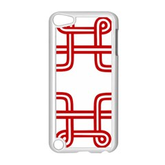 Macedonian Cross Apple Ipod Touch 5 Case (white) by abbeyz71
