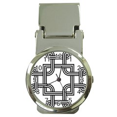 Macedonian Cross Money Clip Watches by abbeyz71