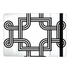 Macedonian Cross Samsung Galaxy Tab Pro 10 1  Flip Case by abbeyz71