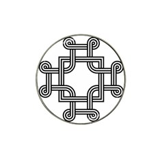 Macedonian Cross Hat Clip Ball Marker (4 Pack)