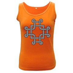 Macedonian Cross Women s Dark Tank Top by abbeyz71