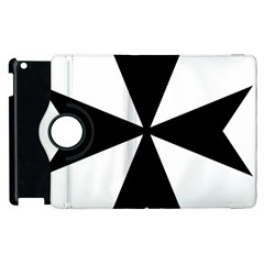 Maltese Cross Apple Ipad 2 Flip 360 Case by abbeyz71