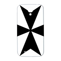 Maltese Cross Samsung Galaxy S4 I9500/i9505  Hardshell Back Case by abbeyz71