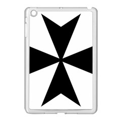 Maltese Cross Apple Ipad Mini Case (white) by abbeyz71
