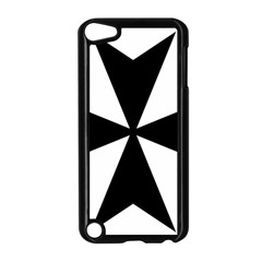 Maltese Cross Apple Ipod Touch 5 Case (black) by abbeyz71