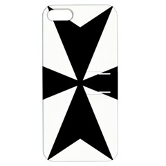 Maltese Cross Apple Iphone 5 Hardshell Case With Stand by abbeyz71