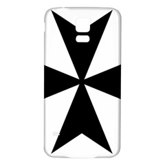 Maltese Cross Samsung Galaxy S5 Back Case (white) by abbeyz71