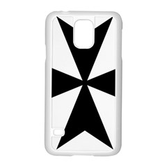 Maltese Cross Samsung Galaxy S5 Case (white) by abbeyz71