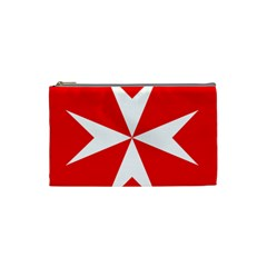 Cross Of The Order Of St  John  Cosmetic Bag (small)  by abbeyz71