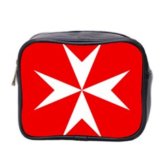 Cross Of The Order Of St  John  Mini Toiletries Bag 2 Side by abbeyz71