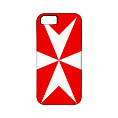Cross Of The Order Of St  John  Apple Iphone 5 Classic Hardshell Case (pc+silicone) by abbeyz71
