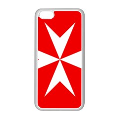 Cross Of The Order Of St  John  Apple Iphone 5c Seamless Case (white) by abbeyz71