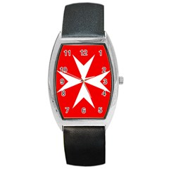 Cross Of The Order Of St  John  Barrel Style Metal Watch by abbeyz71